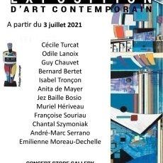 exposition artistique peinture contemporaine chantal szymoniak galerie la baule